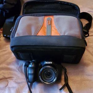Camera and bag